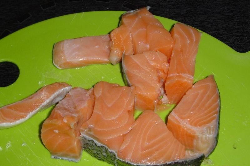 Рыба по-русски запеченная