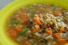 Грибной суп для похудения