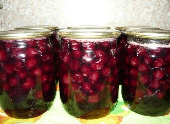 Желе из вишни на зиму