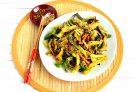 Картофель, жареный с овощами по-азиатски