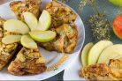 Яблочный пирог (мало теста, много яблок)
