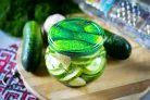 Салат из переросших огурцов на зиму без стерилизации