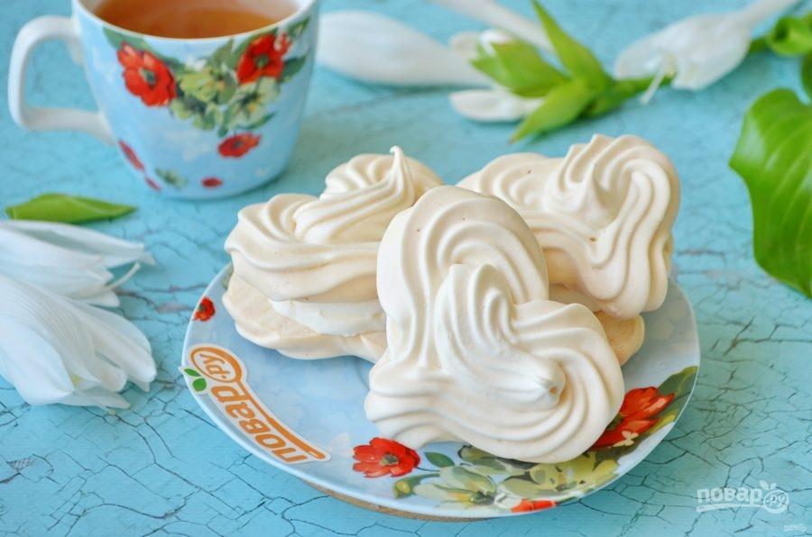 Меренги с мороженым