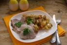 Маринованное мясо в духовке