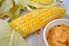 Кукуруза с соусом