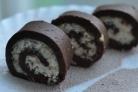 Рулет из печенья без выпечки