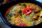 Дорадо, тушенная в томатном соусе