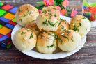 Пампушки с чесноком в хлебопечке