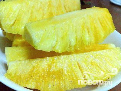 1.Вы можете заменить свежий ананасовый сок консервированным, однако...