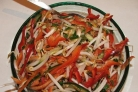 Китайский салат с креветками