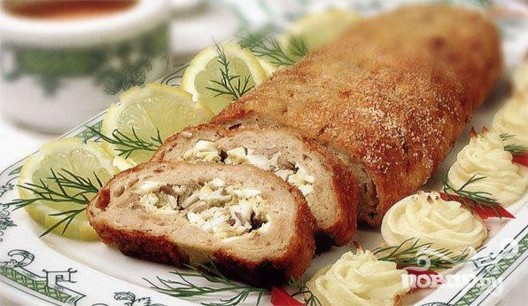 Лучшие рецепты мясных рулетов с фото - Рецепты блюд на День Рождения...