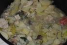 Рагу с грибами в мультиварке