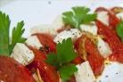Салат из жареных помидоров
