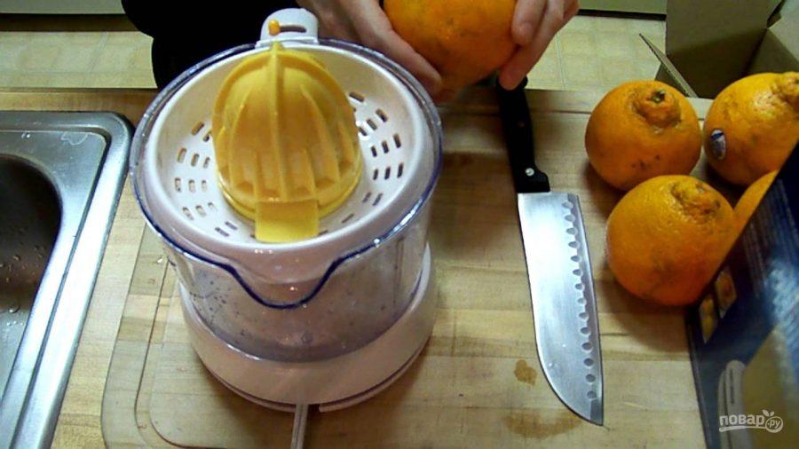 Тушеная утка с апельсинами