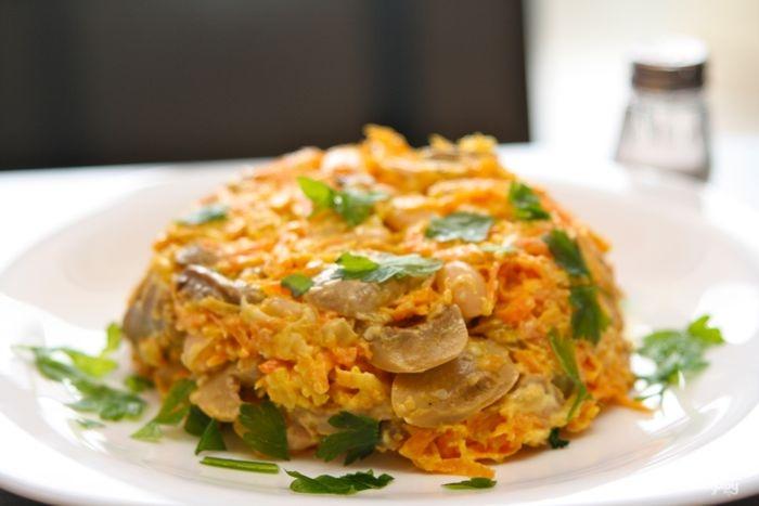 Рецепты салатов с курицей с фото, простые и вкусные