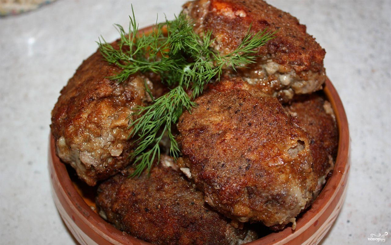 Котлеты из говядины вкусные, диетические, пошаговый рецепт ...
