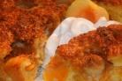Абрикосовый пирог с марципаном
