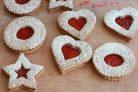 Австрийское печенье с малиновым вареньем