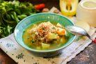 Картофельный суп с гречкой