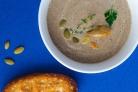 Грибной крем-суп из замороженных грибов