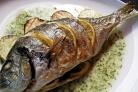 Рыба в фольге на гриле