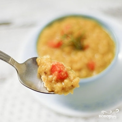 Вегетарианский гороховый суп
