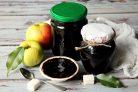 Варенье из черники и яблок