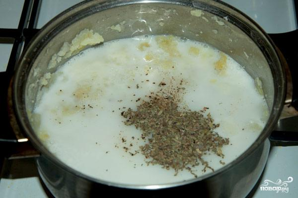Сырный суп пюре вегетарианский