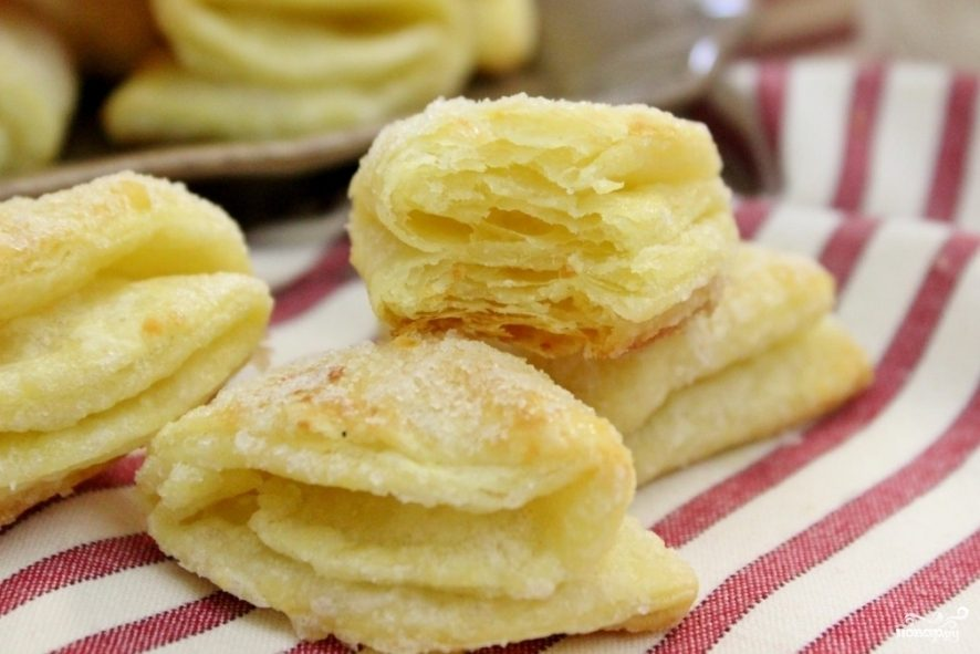 рецепт печенья гусиные лапки с творогом