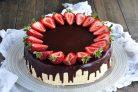 Красивый торт