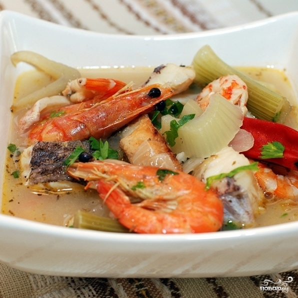 Рыбный суп с фенхелем