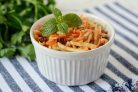 Салат с репой и морковью