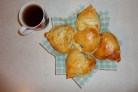 Пирожки с адыгейским сыром