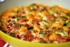 Кабачки, запеченные в духовке с овощами