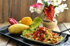 Салат из курицы и манго «Экзотическая птичка»