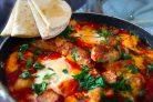 Мексиканский завтрак Одна сковородка
