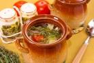 Суп из баранины с баклажанами
