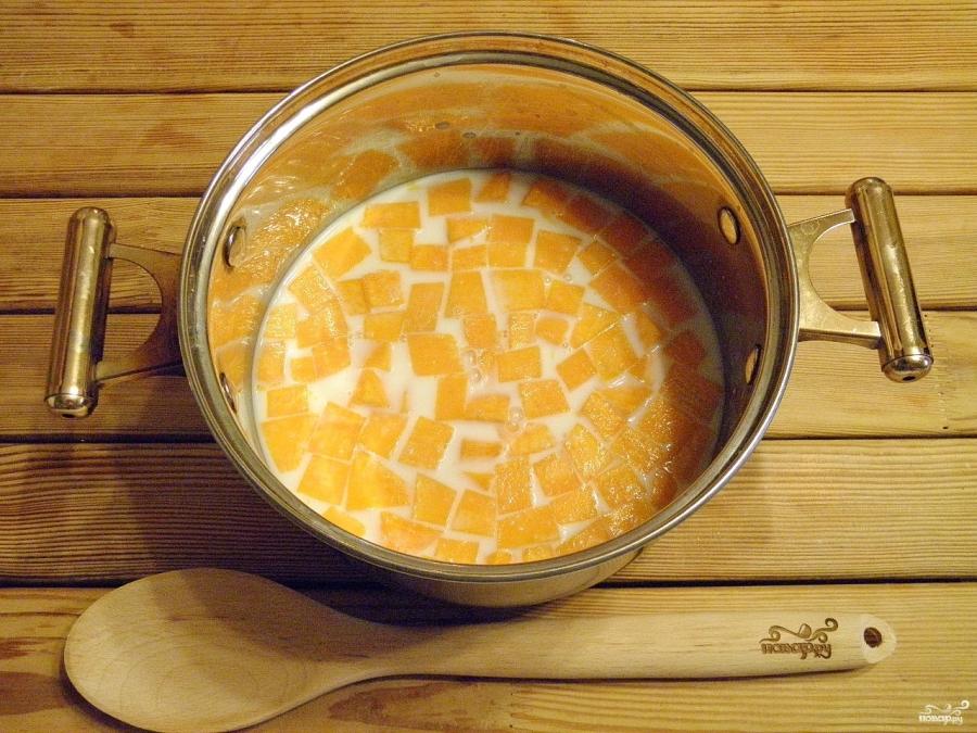 Каша из тыквы традиционная