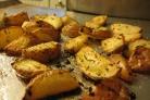 Картошка в духовке с чесноком