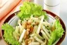 Салат из груш с огурцами