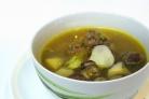 Суп грибной с фрикадельками