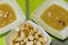 Гороховый суп на мясном бульоне