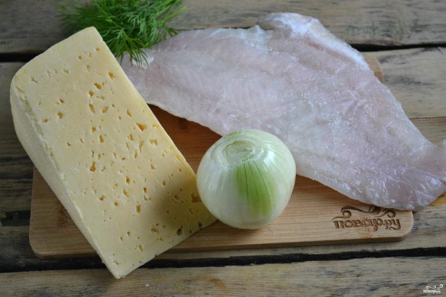 Пангасиус в духовке под сыром