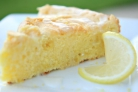 Лимонный пирог с оливковым маслом