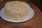 Торт на сковороде со сметаной