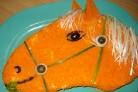 Салат Золотая лошадь
