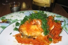 Треска с морковью и луком