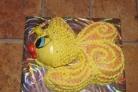 Торт Золотая рыбка