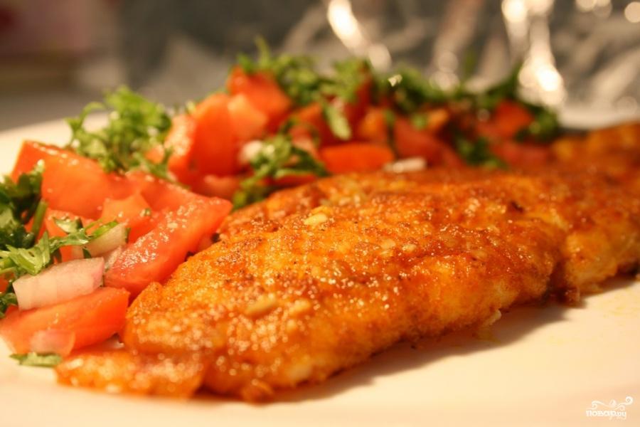 Рыба жареная под маринадом фото 3