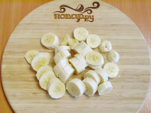 Сыроедческое банановое мороженое